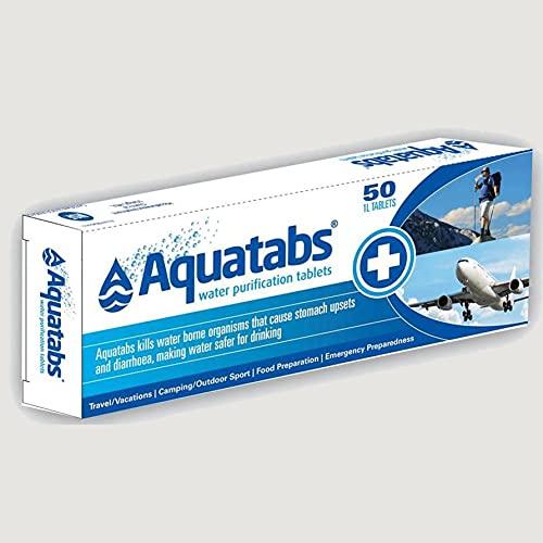 Albainox 33430 Pastillas Potabilizadoras, Unisex Adulto, Multicolor, Talla...