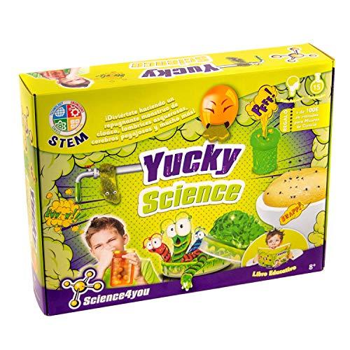 Science4you - Yucky Science, Un Laboratório Repugnante, Juguete Educativo y...
