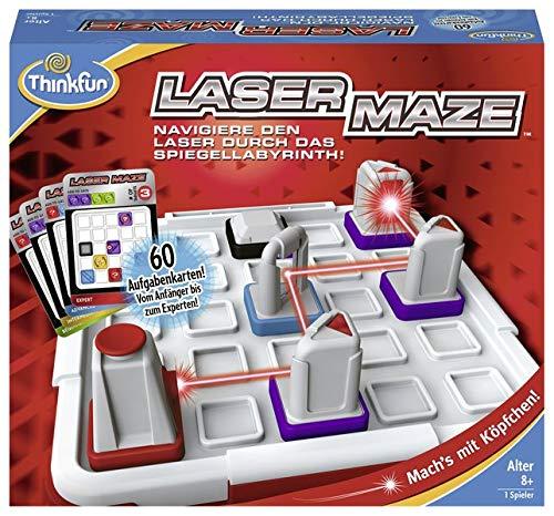 Laser Maze: Navigiere den Laser durch das Spiegellabyrinth!