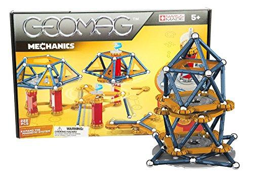 Geomag Mechanics Construcciones magnéticas y juegos educativos, 222 Piezas...