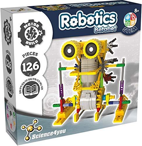 Science4you - Robotics Betabot - Kit de Robotica con 126 Piezas, Construye tu...