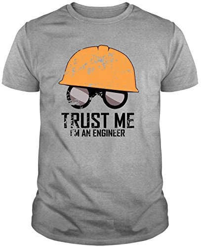 The Fan Tee Camiseta de Hombre Divertidas Divertida Ingeniero Trust ME IM...