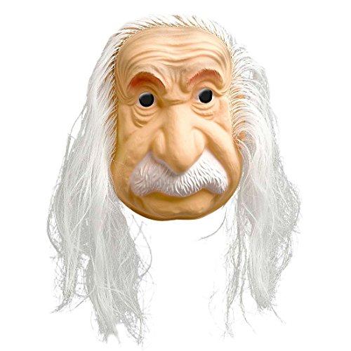 Máscara del Físico Albert Einstein con peluca