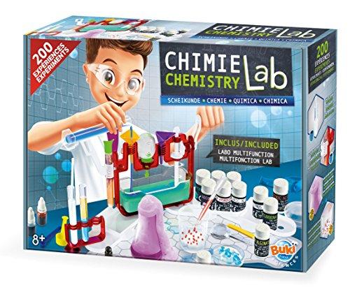 Buki France- Laboratorio de Quimica 200 Juego para Aprender Chimia, 8 Años,...