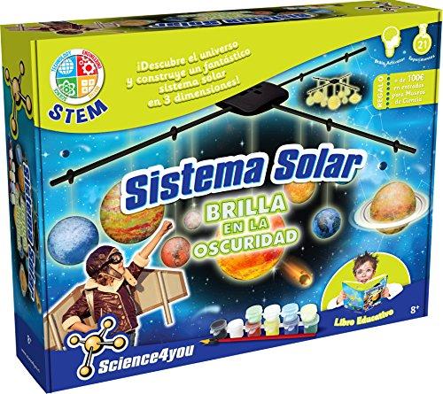 Science4you - Sistema Solar para Niños +8 Años - 21 Experimentos Cientificos:...