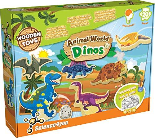 Science4you - Animal World Dinos, juguete educativo (488196) , color/modelo...