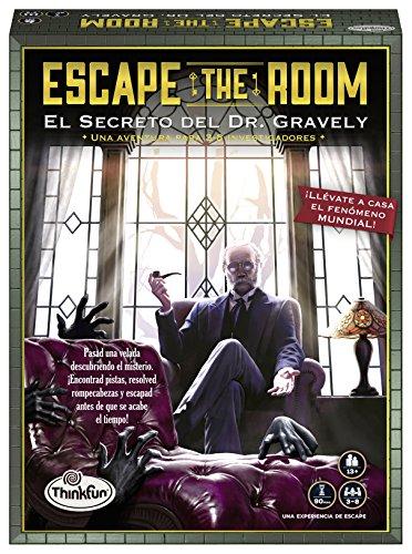 ThinkFun 76311, Escape The Room: Dr. Gravely, Juego de mesa, Versión en...