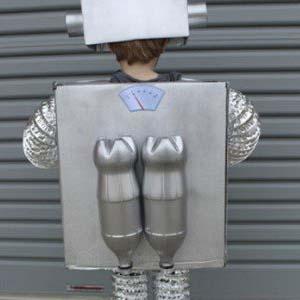 disfraces robot para niños casero
