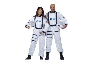 disfraz astronauta mujer y hombre