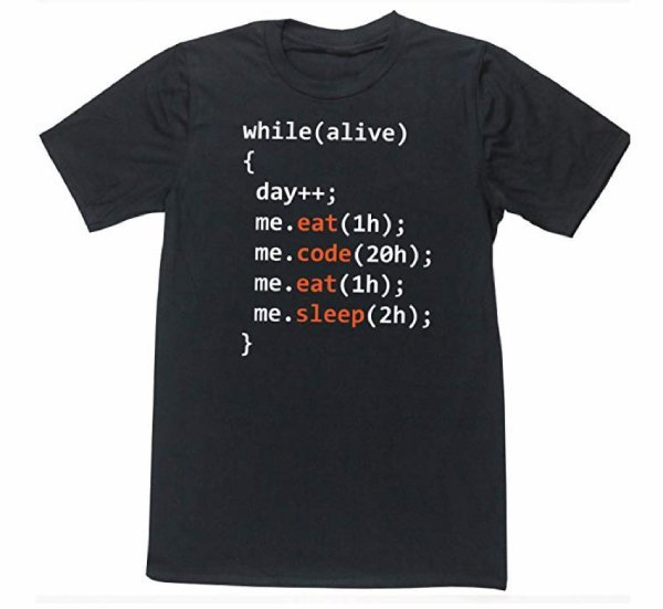 camiseta de informatico
