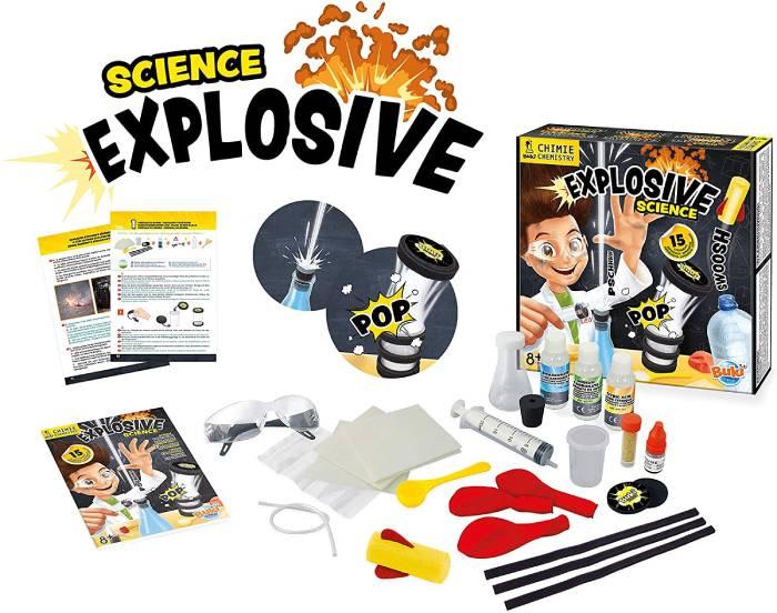 juego quimica explosion