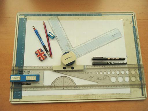 materiales para dibujo tecnico industrial
