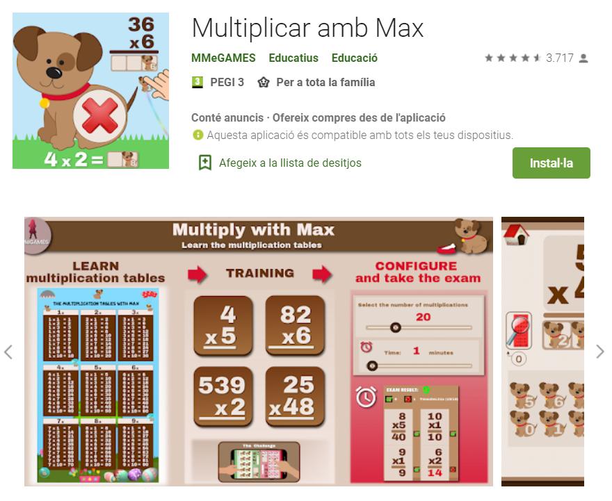 juegos para aprender la tabla de multiplicar para niños