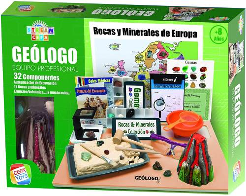 juego minerales carrefour