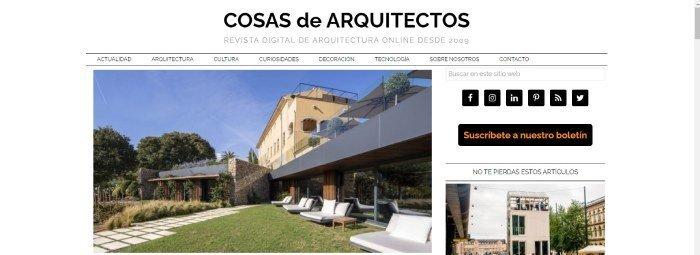 blogs populares de arquitectura